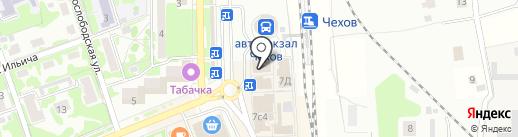 Ломбард Сервис Плюс на карте Чехова