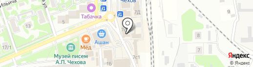 Магазин молочной продукции на карте Чехова