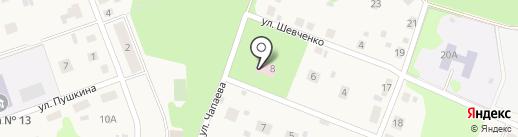 Терапевтический участок на карте Барсуков