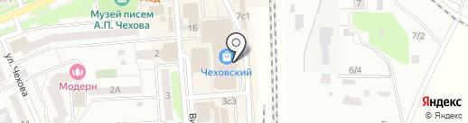 Много Мебели на карте Чехова