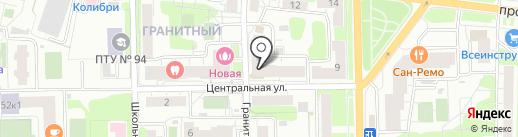 Женская консультация на карте Долгопрудного