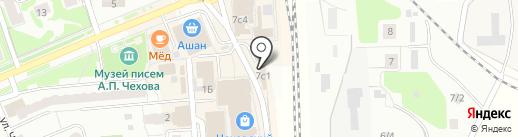Лит.Ra на карте Чехова