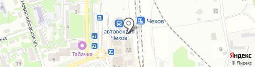 Первая полоса на карте Чехова