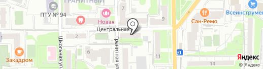 Участковый пункт полиции №11 на карте Долгопрудного