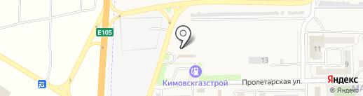 САМ на карте Первомайского