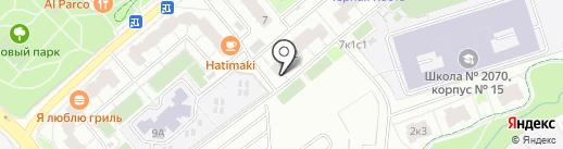 Лаборатория Hair Expert на карте Москвы