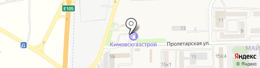АГЗС Кимовскгазстрой на карте Первомайского