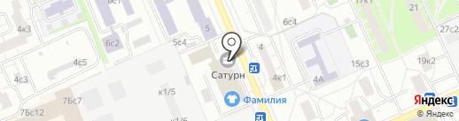 Белый город на карте Москвы