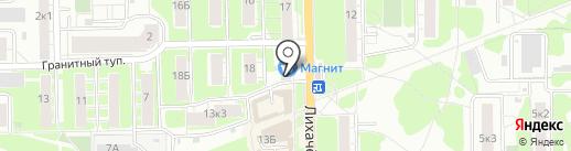 Погребок на карте Долгопрудного