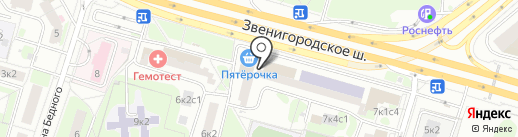 ВПО Московская педагогическая академия дошкольного образования, АНО на карте Москвы