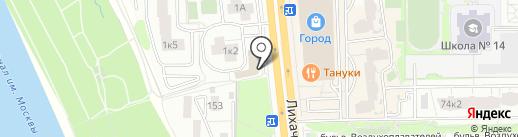 Суши CooK на карте Долгопрудного