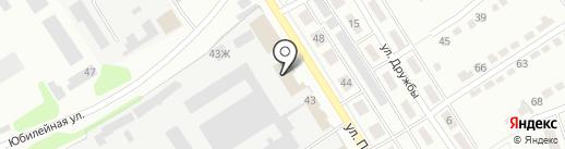 Дента на карте Щёкино