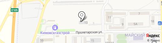Технодизель на карте Первомайского
