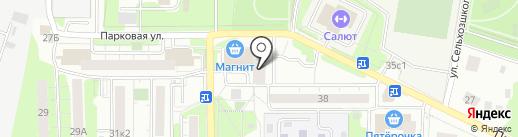 МОРОФСС на карте Долгопрудного
