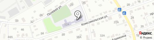 Средняя общеобразовательная школа №12 на карте Щёкино