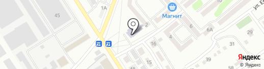 Детская музыкальная школа №2 на карте Щёкино