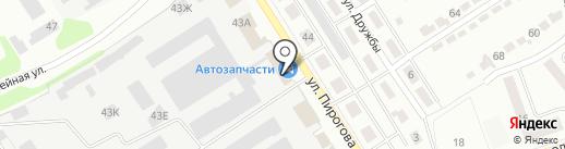 Актив на карте Щёкино