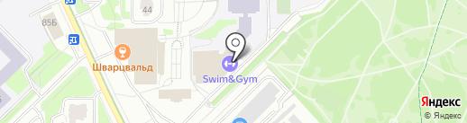 Магазин спортивной одежды и товаров для плавания на карте Москвы