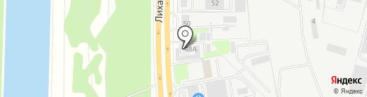 Мебельная Компания ЭКТИВСИТИ на карте Долгопрудного