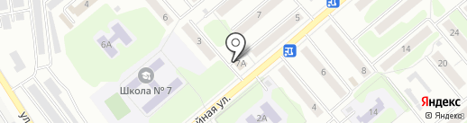 Ольга на карте Щёкино