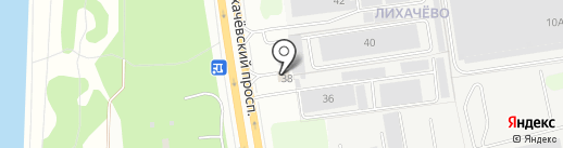 Магазин автозапчастей на карте Долгопрудного