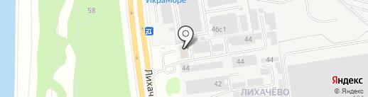 ДОЛПРИНТ на карте Долгопрудного