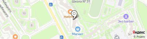 Империя чистоты на карте Подольска