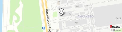 Мастерская художественной ковки на карте Долгопрудного