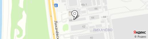 Зелёная Аптека Садовода на карте Долгопрудного