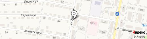 Химик на карте Первомайского