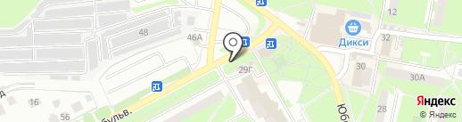 Лайк на карте Подольска
