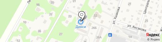 Дикси на карте Некрасовского