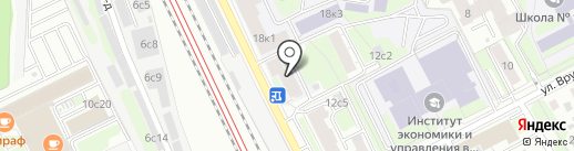 Комбинат питания МГУПП на карте Москвы