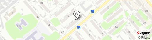 Лаборатория красоты на карте Щёкино