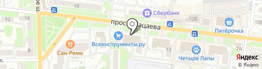 Банкомат, Сбербанк, ПАО на карте Долгопрудного