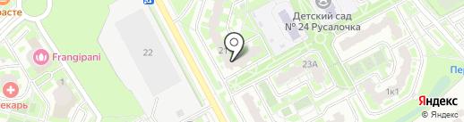 Галилео на карте Подольска