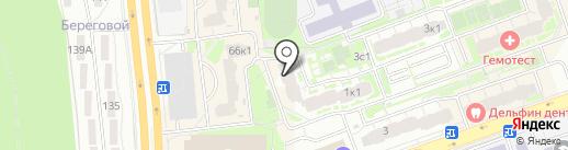 ЦирюльникЪ на карте Долгопрудного