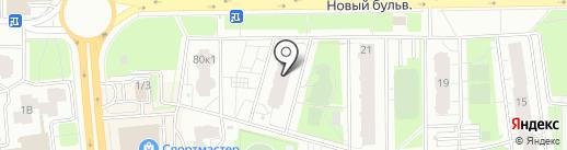 Орлеан на карте Долгопрудного