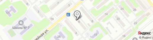 Зелёный свет на карте Щёкино