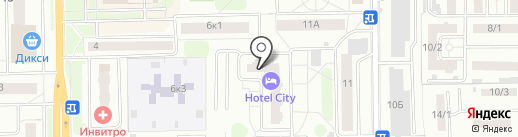 OptiMista на карте Долгопрудного