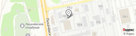 Италгаз Сервис на карте Долгопрудного