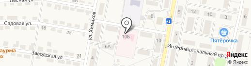 Тульский областной наркологический диспансер №1 на карте Первомайского