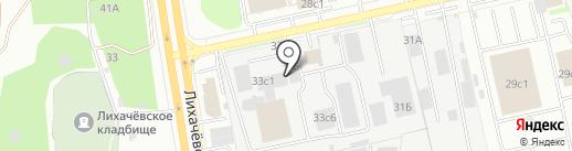 А-Сэвэн на карте Долгопрудного