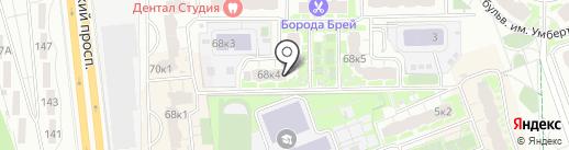 Городская управляющая компания на карте Долгопрудного