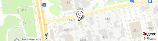 Автомойка на карте Долгопрудного