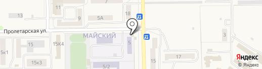 Продснаб на карте Первомайского