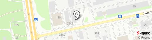 Азбука Лифта на карте Долгопрудного