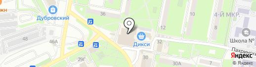 Пати-Шоп на карте Подольска