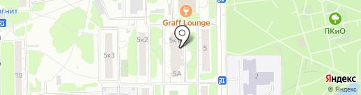 БалтБет на карте Долгопрудного