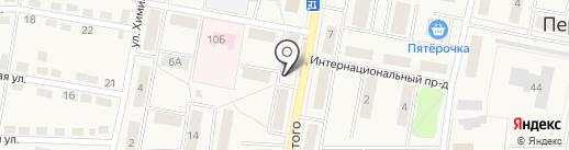 Магазин на карте Первомайского